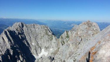 View from the top of the Ellmauer Halt mountain, © TVB Wilder Kaiser