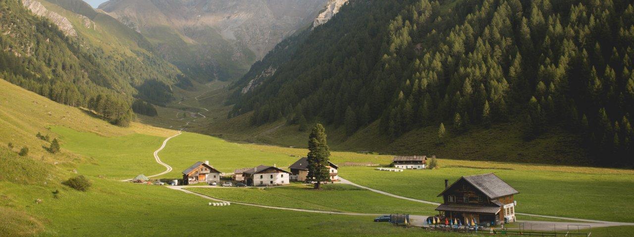Alpengasthof Kasern im Schmirntal, © Tirol Werbung/Bert Heinzlmeier