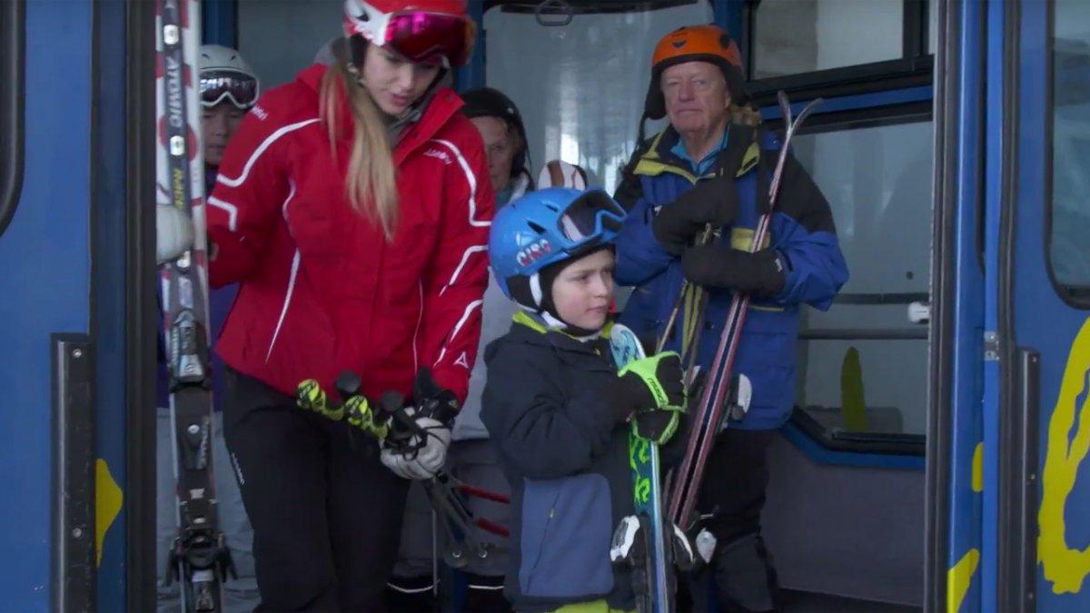 Pendelbahn mit Kind, © Tirol Werbung