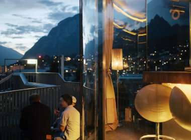 Innsbruck, 360 Grad Bar. Foto: Tirol Werbung/Verena Kathrein