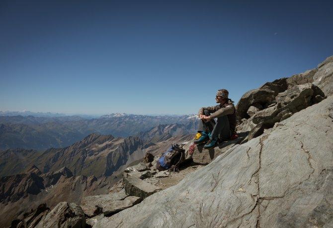 Matthias Wurzer am Gipfel des Großglockners, © Tirol Werbung/Jens Schwarz