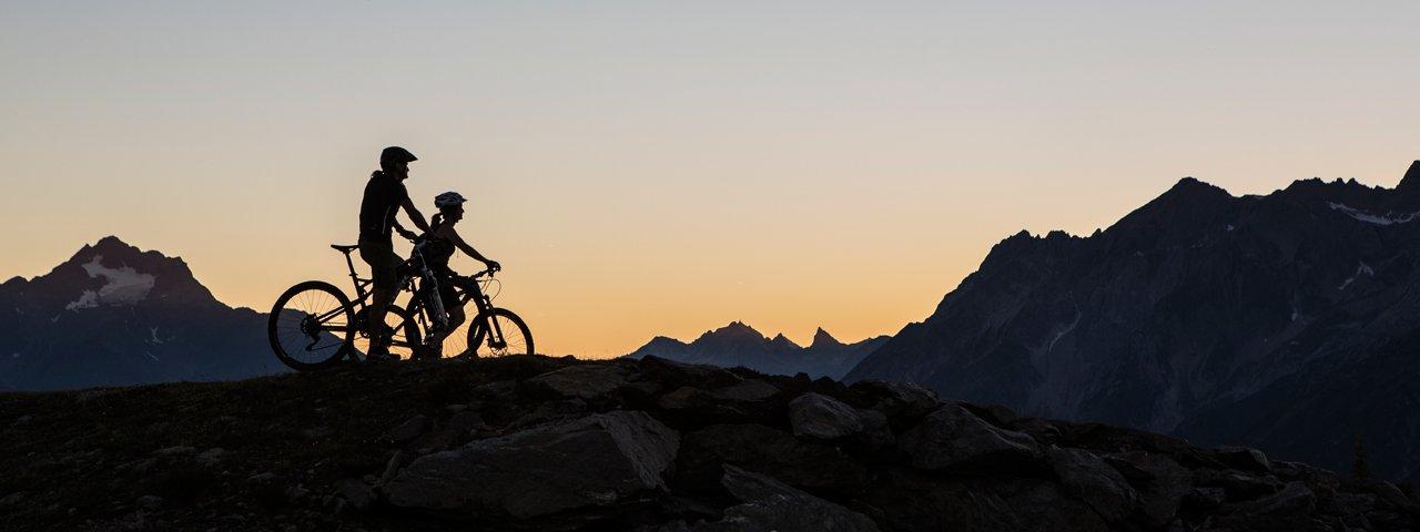 Auf dem Bike Everest Tirol bei Fliess, © Daniel Zangerl