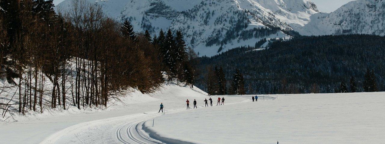 Langlaufen in St. Johann, © Tirol Werbung / Charly Schwarz