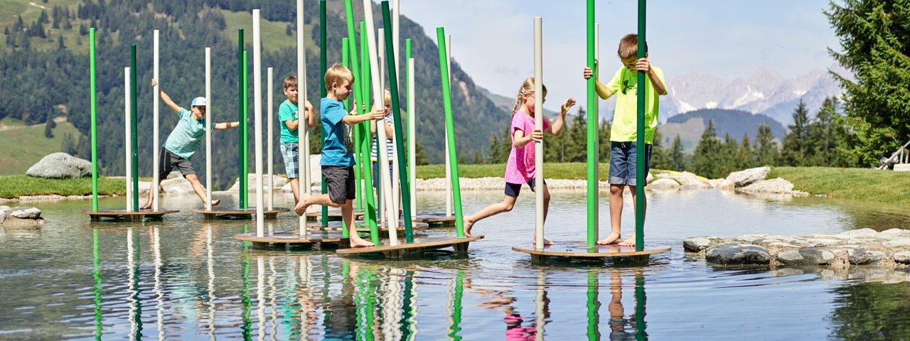 Timoks Wasserspiele, © fieberbrunn.com