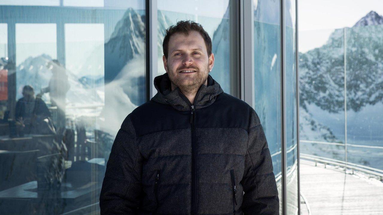 Christian Melmer, Standesbeamter in Österreichs höchstem Standesamt, © Tirol Werbung/Lisa Hörterer
