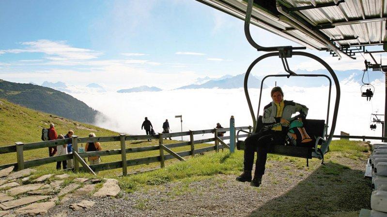 Sessellift Untermarkter Alm & Alpjoch, © Imster Bergbahnen