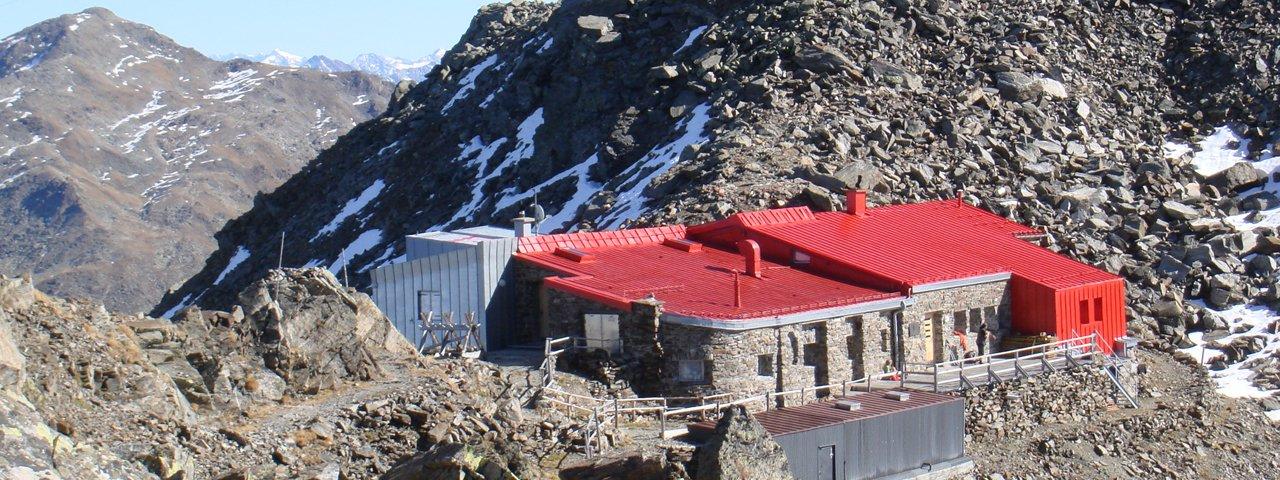 Entlang der 8. Etappe. die Glungezer Hütte, © Gerald Aichner