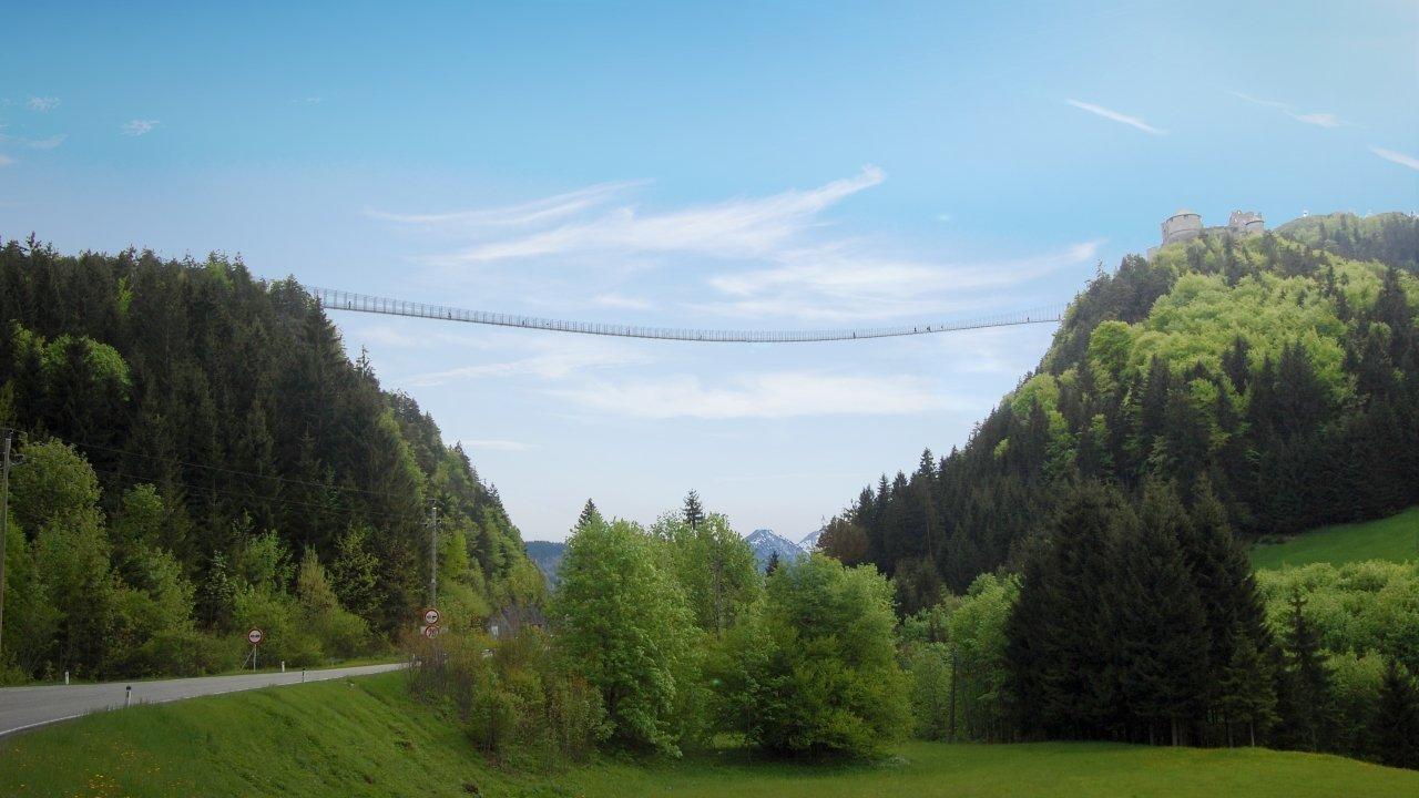 Highline179, © Strabag/Naturparkregion Reutte