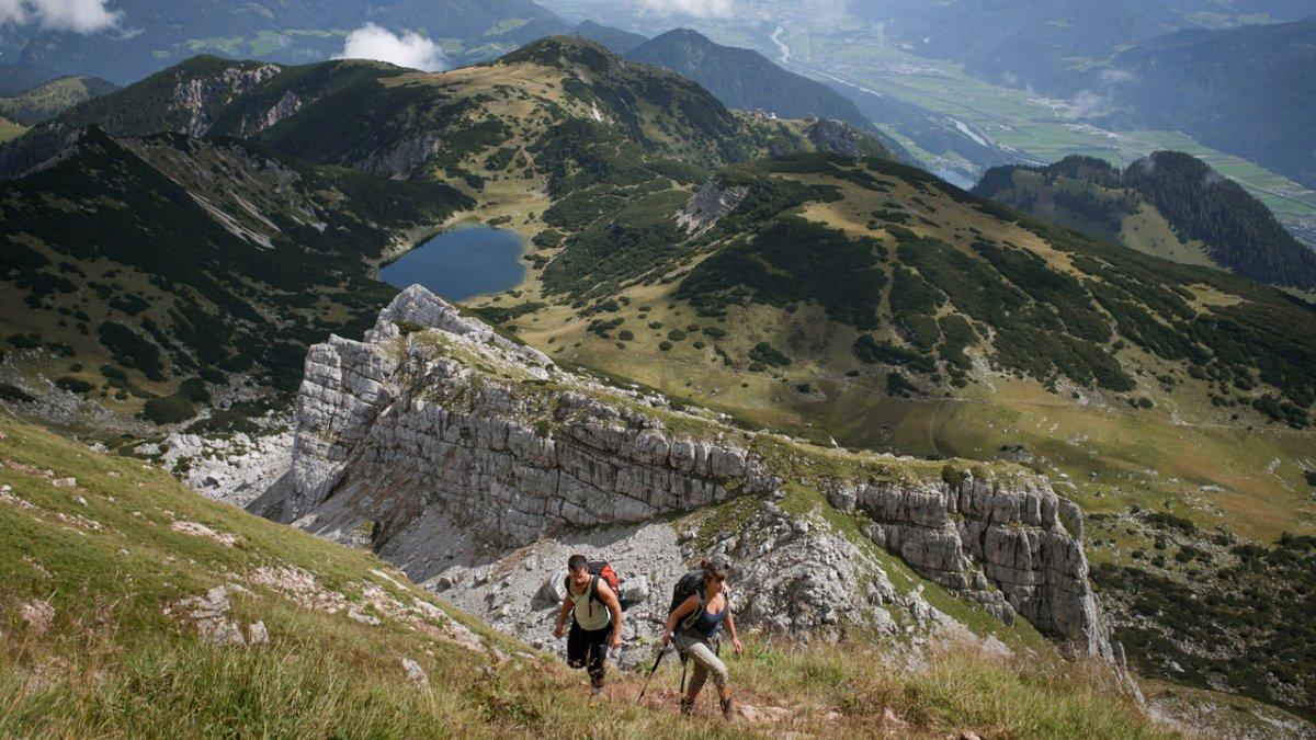 Adlerweg: Etappe im Rofan, © Tirol Werbung