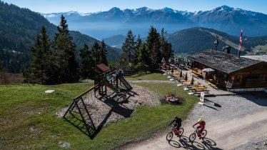 MTB-Tour auf die Rosshütte - Hocheggalm, © Olympiaregion Seefeld/Andreas Kern