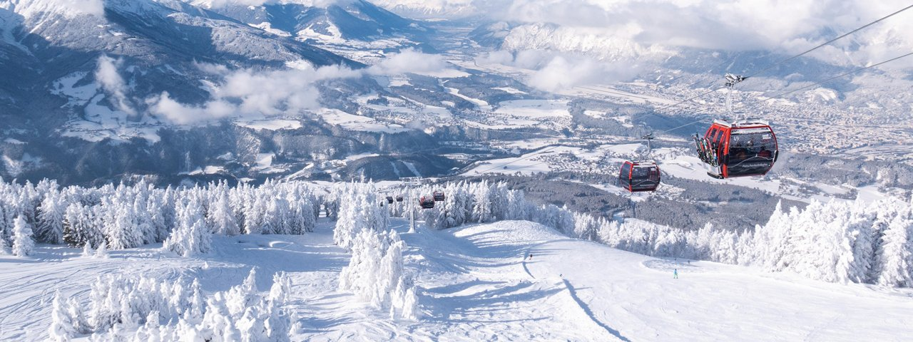 Skigebiet Patscherkofel in Innsbruck, © Innsbruck Tourismus / Tom Bause