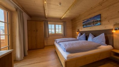 Appartemenhaus Hinting Schlafzimmer Enzian