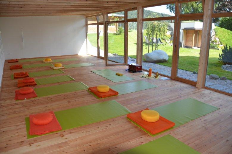 Das aufatmen bietet Yoga-Worshops oder Retreats. , © aufatmen, Pfeiffer