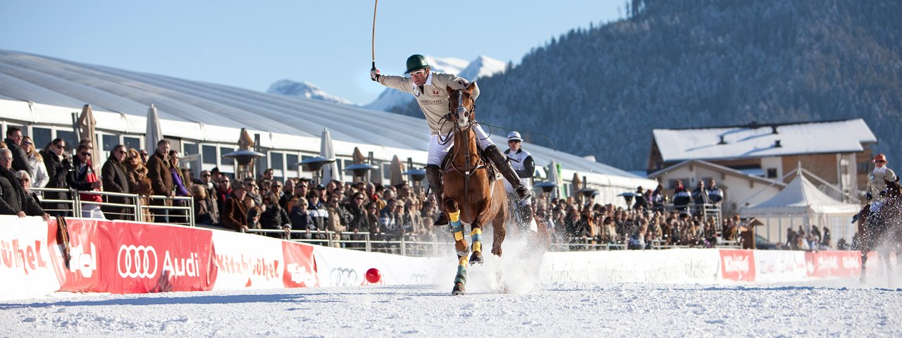 In vollem Galopp: Snow Polo World Cup in Kitzbühel, © Lifestyle Events GmbH