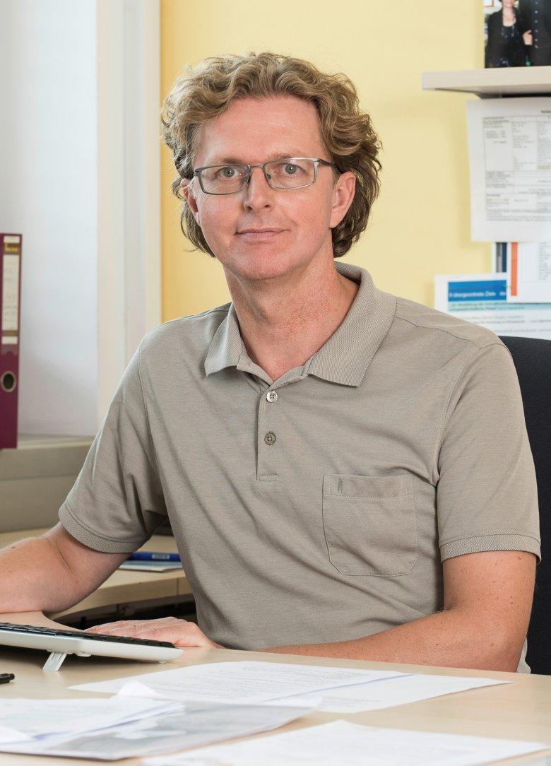 Manfred Bauer von der Zamg.