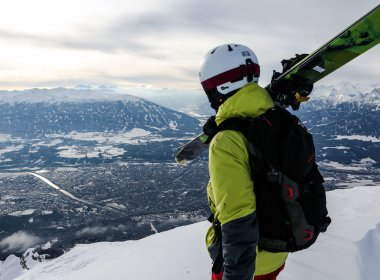 Hafelekar Ausblick Innsbruck Patscherkofel Ski (c) Carlos Blanchard_Tirol Werbung