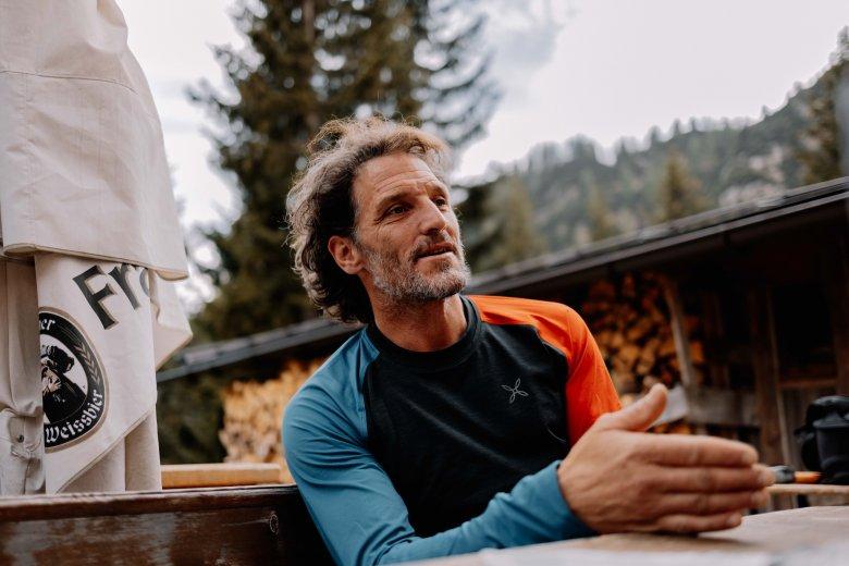 Robert Monz ist Bergführer und seit er sechzehn ist Vegetarier.