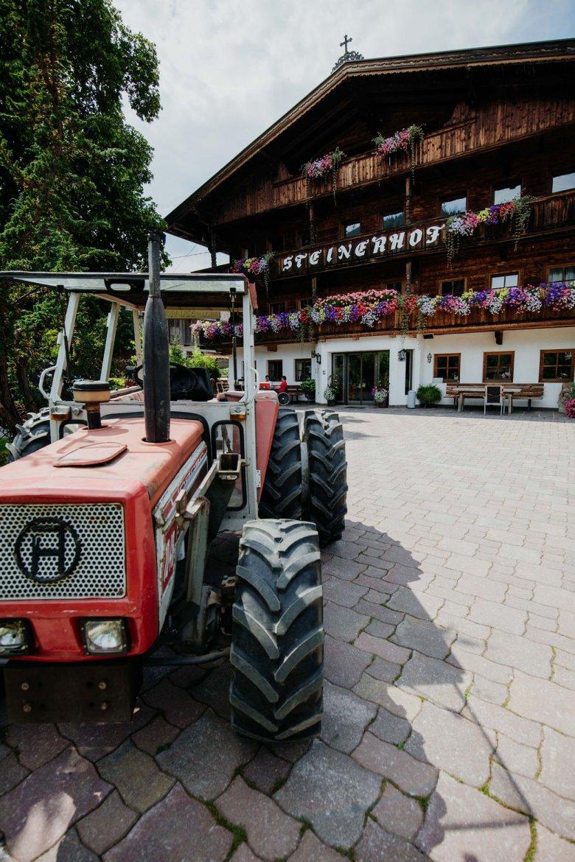 Der Steinhof ist der größte Krautinger Brenner in der Wildschönau