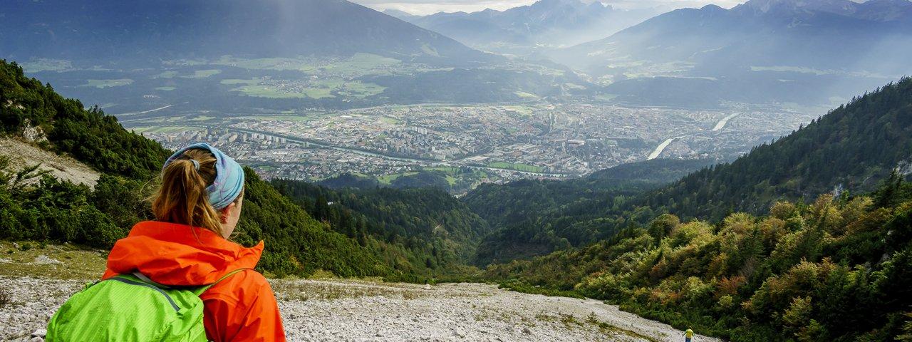 Wandern in Innsbruck: Goetheweg, © Tirol Werbung / Herbig Hans