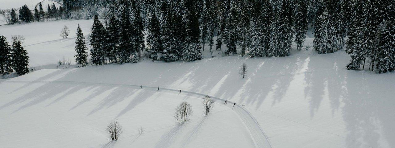 Langlaufloipe in St. Johann, © Tirol Werbung / Charly Schwarz