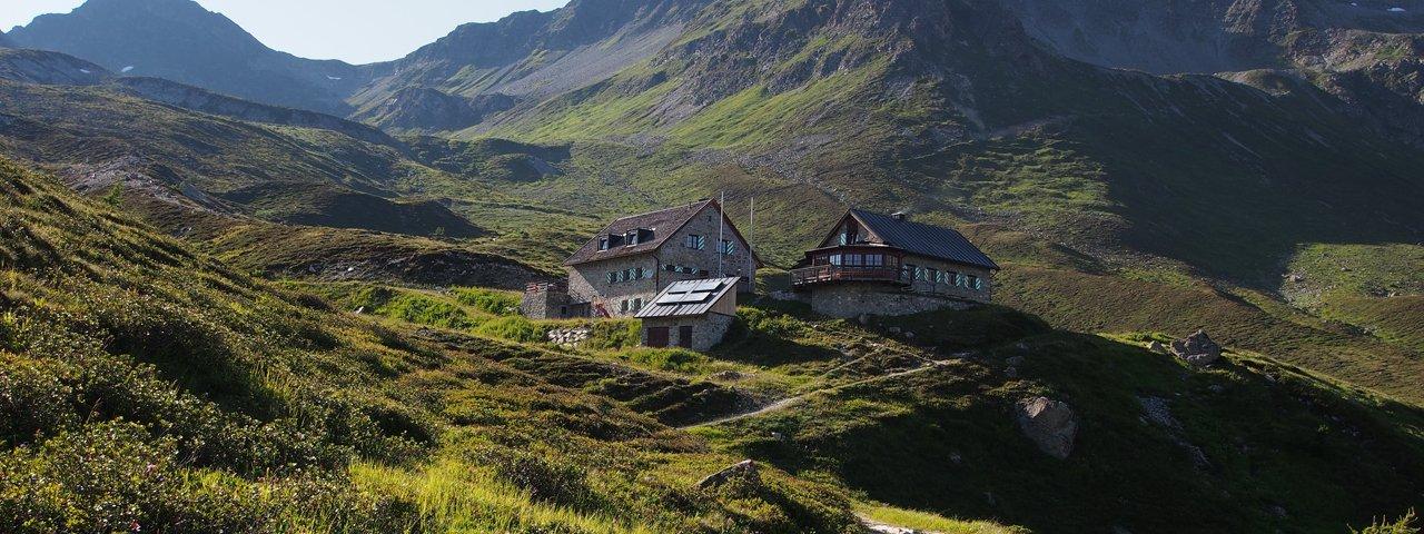 Paznauner Höhenweg Etappe 5: Friedrichshafener Hütte, © TVB Paznaun - Ischgl