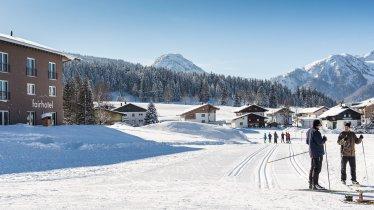 """Langlaufhotel """"fairhotel"""" in Hochfilzen, © fairhotel Hochfilzen"""
