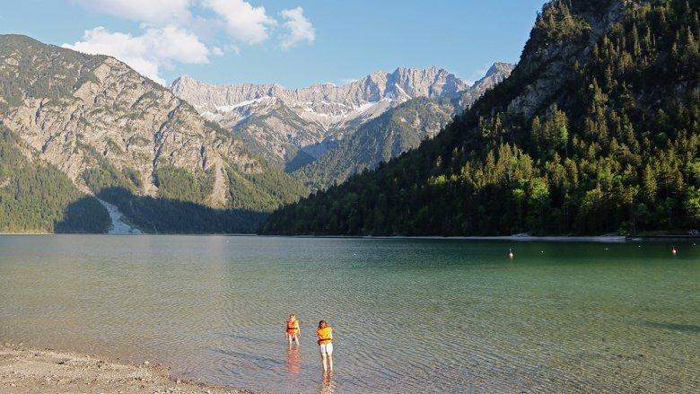 Nach dem Achensee ist der Plansee Tirols zweitgrößter See.