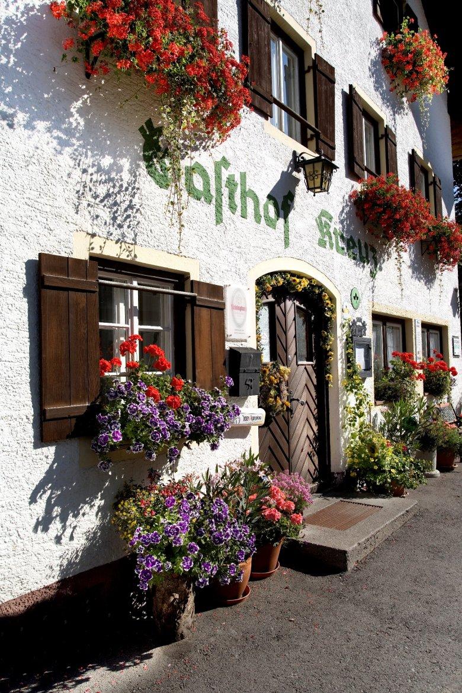 Ein traditioneller schöner Gasthof im Ortsteil Rieden bei Reutte