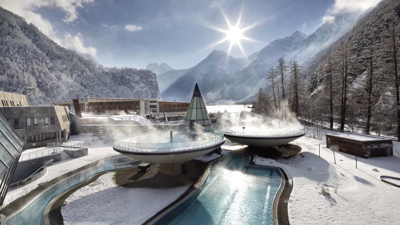 Aqua Dome im Winter, © Aqua Dome
