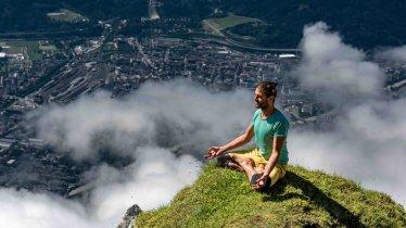 Yoga auf der Nordkette, © Yoga Summit Innsbruck