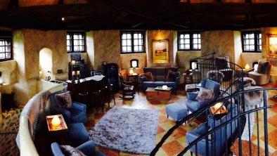 Spa im Turm - Panorama Lounge, © Boutique Hotel Schloss Matzen