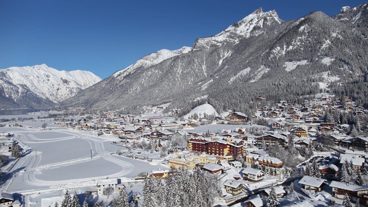 Maurach im Winter, © Achensee Tourismus