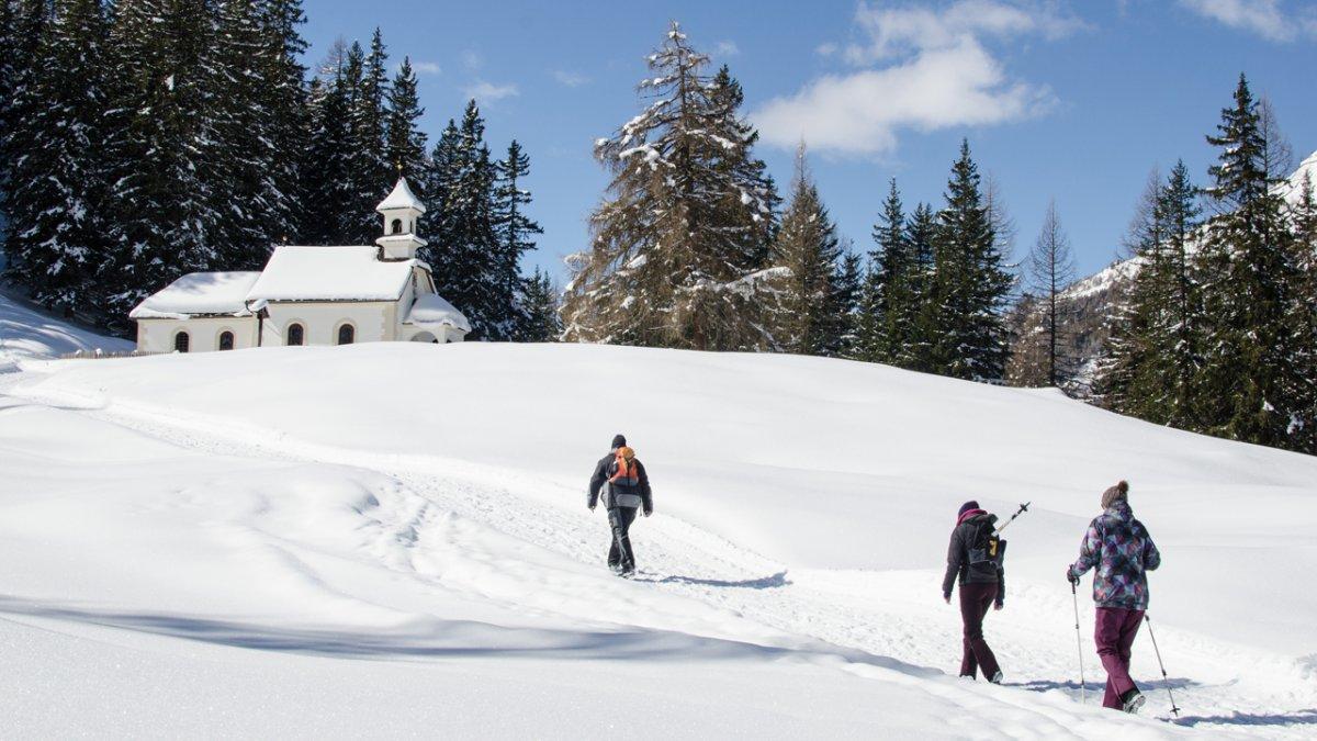 Winterwanderung zur Kalten Herberge, © TVB Wipptal