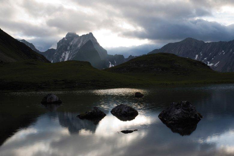 Unterer Seewisee an der Memminger Hütte. Foto: Tirol Werbung / Bernd Ritschel., © Tirol Werbung / Bernd Ritschel.