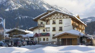 Winteransicht Hotel Loipenstubn