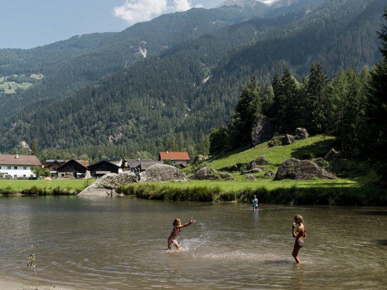 Badespaß in Längenfeld, Ötztal