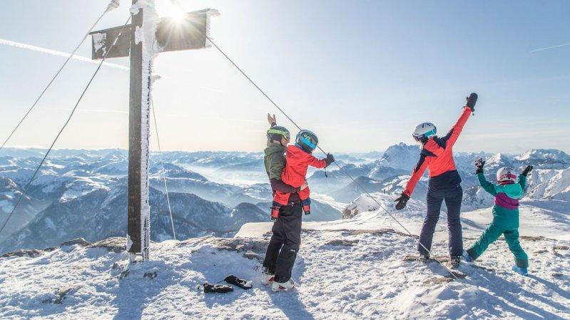 Skigebiet Steinplatte/Waidring, © defrancesco.at