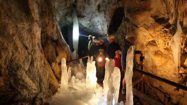 Eis- & Tropfsteinhöhle Hundalm, © TVB Hohe Salve
