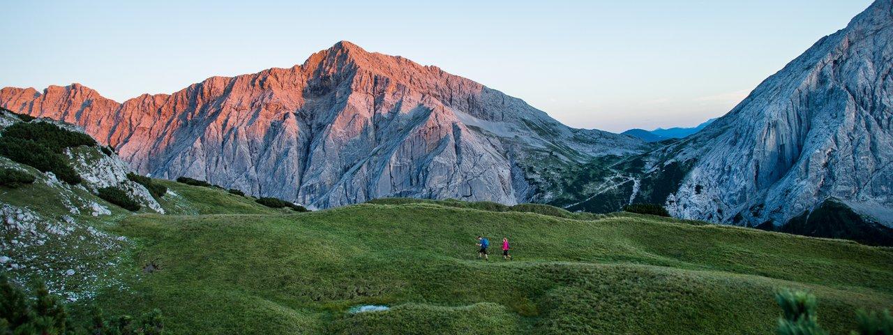 Wandern im Karwendel, © Olympiaregion Seefeld