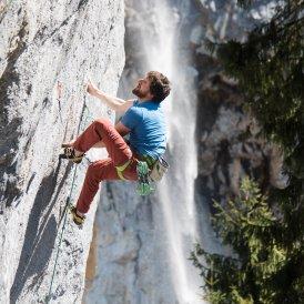 Schleierwasserfall, Wilder Kaiser, © Tirol Werbung / Johannes Mair