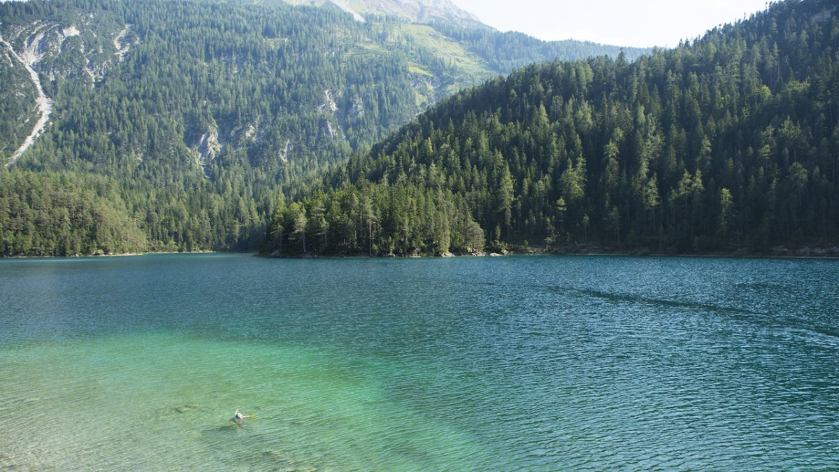 Badeseen in Tirol