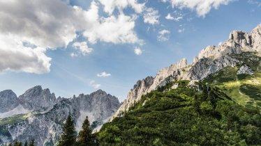 Hiking in the Wilder Kaiser Mountains, © Peter von Felbert