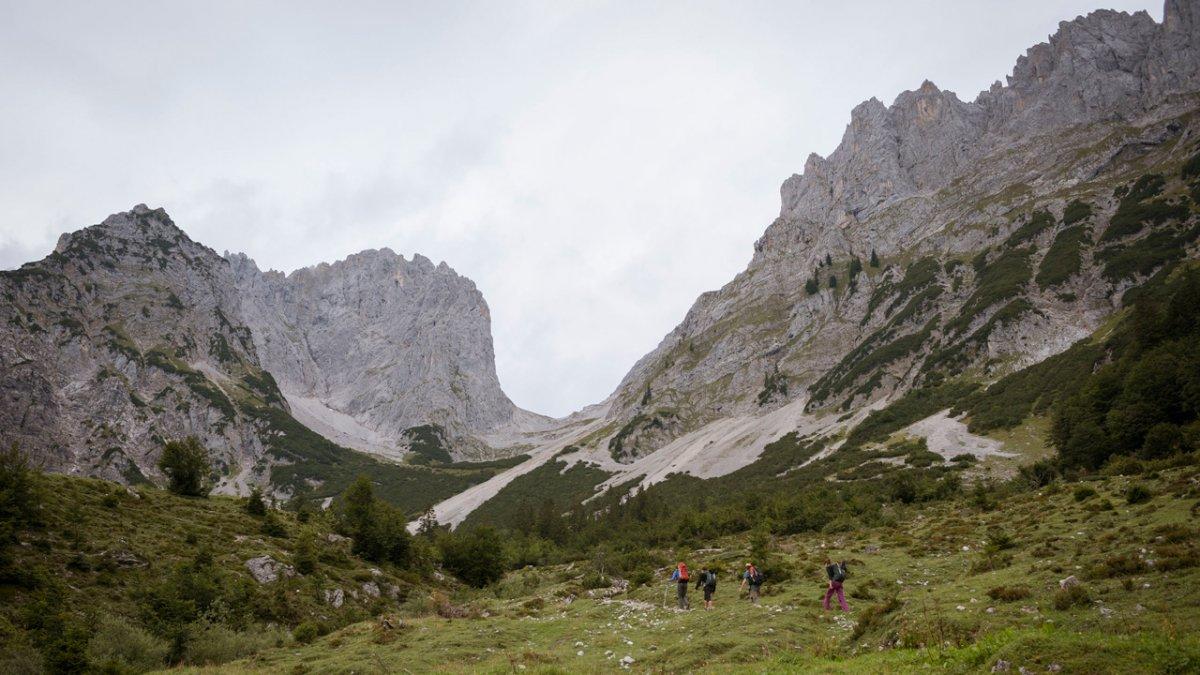 Adlerweg: Start im Wilden Kaiser, © Tirol Werbung