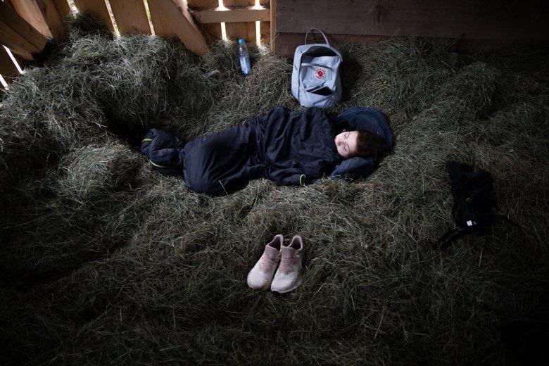 TW Komm Runter – Heuschlafen