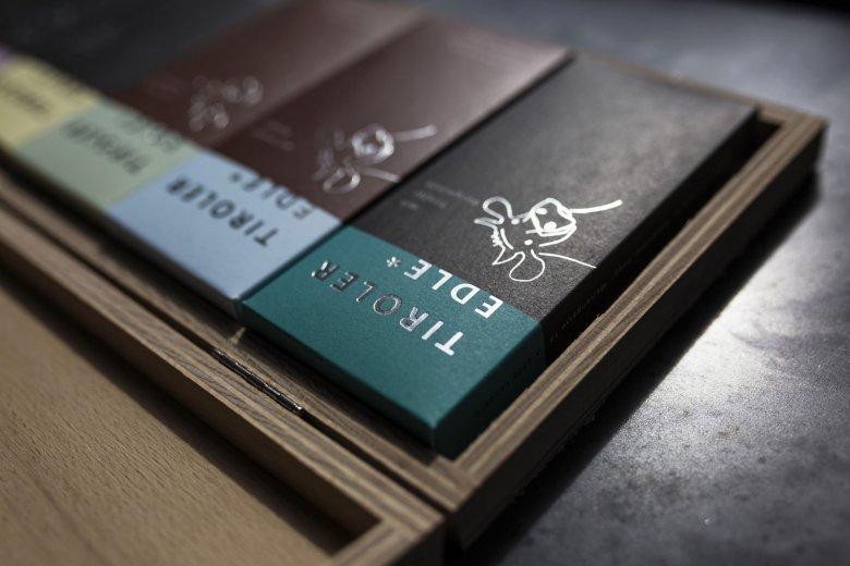 Tirol West, Landeck, Cafe-Konditorei Haag, Tiroler Edle Schokolade