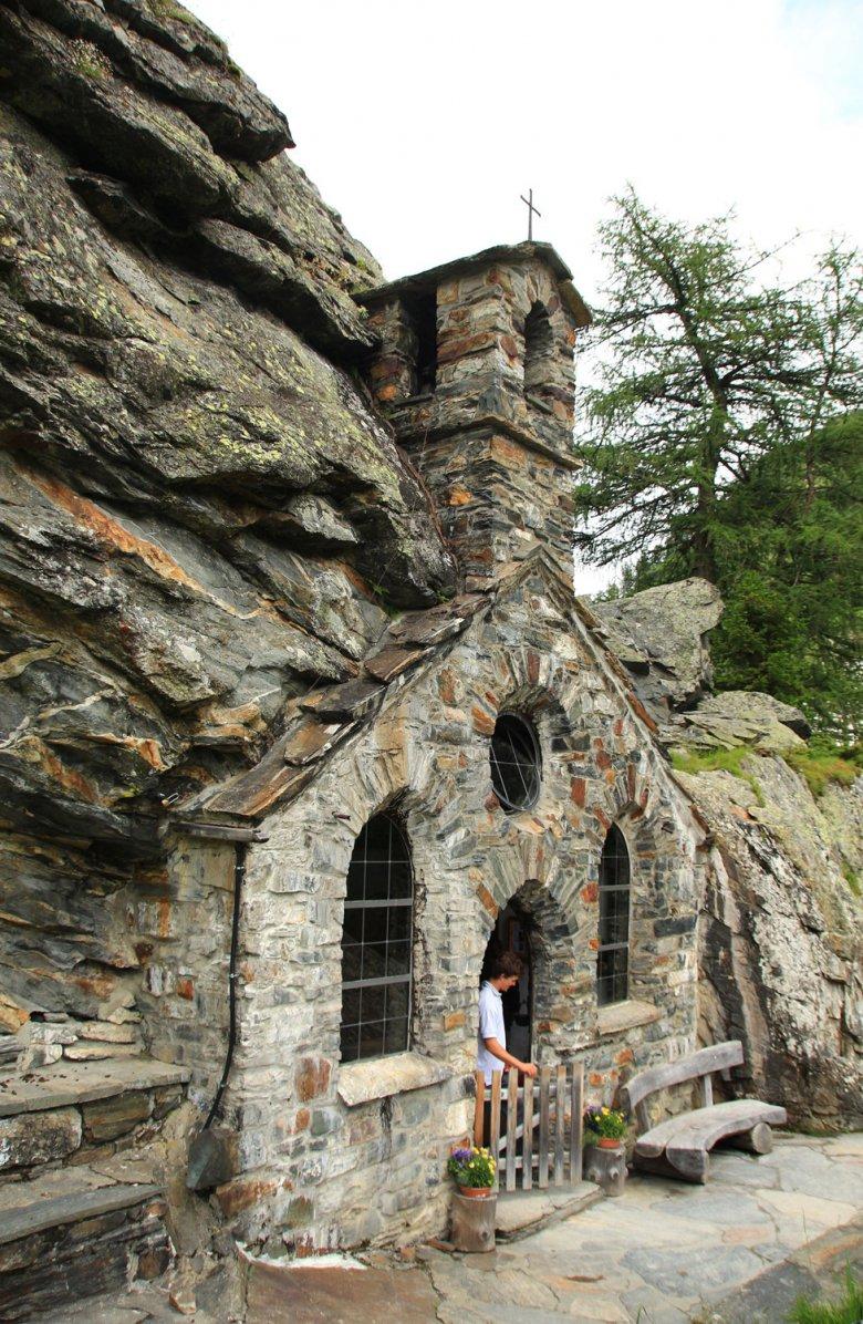 Die Felsenkapelle im Gschlösstal. (c) NPHT Wendler Martin