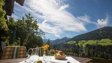 Ausblick in die Alpbachtaler Bergwelt