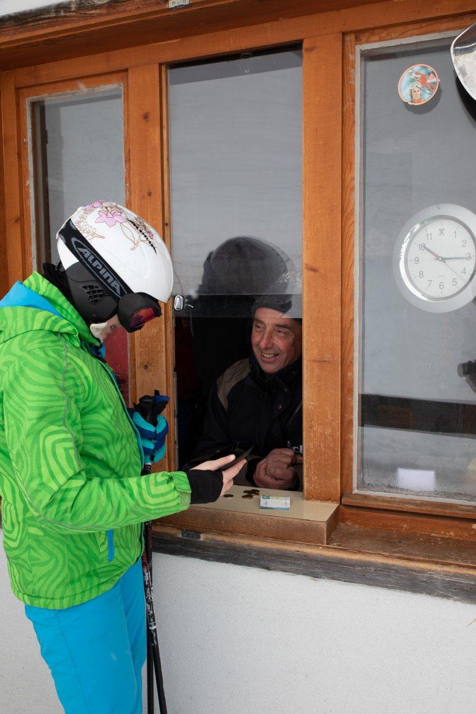 Am Bürgermeisterlift gibt es Skivergnügen für kleines Geld.