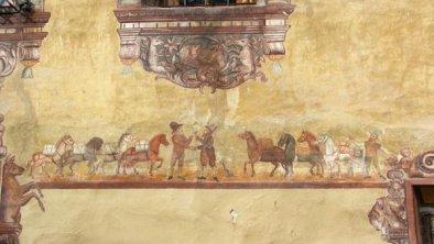 Fresken Pferde