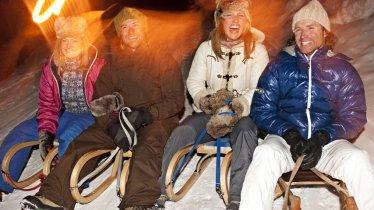 Rodelbahn Pitztaler Skihütte, © TVB Pitztal/Mattia Balsamini